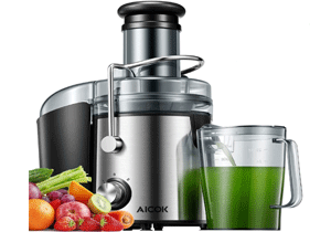 AICOK Juicer Extractor Review - Best Juicer to buy for greens in 2021