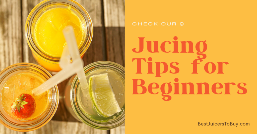 Jucing Tips for Beginners