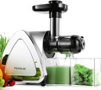 Juicer Machines, Homever Slow Masticating Wheatgrass Juicer 2021