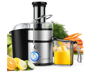 KOIOS Centrifugal Juicer - Juice Extractor with Big Mouth - Best Affordable Juicers 2021
