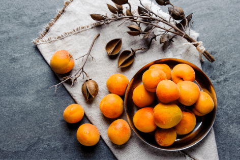 Apricots - Best Fruit for Bones and teeth
