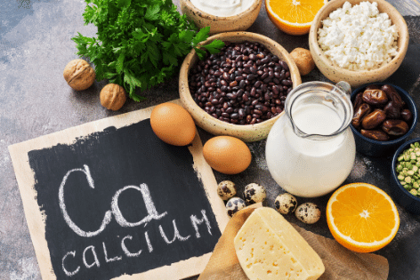 What does calcium do for the body?