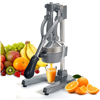 ZENY Commercial Grade Hand Press Manual Juicer - Best pomegranate juicer for home use