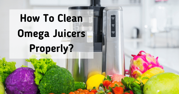 How To Clean Omega Juicers Properly?
