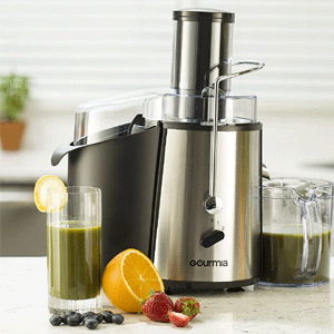 Gourmia GJ-750 - Best compact electric juicer for 2021